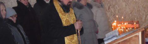 Первые богослужения